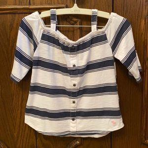 Stylish Abercrombie kids shirt girls size 7/8